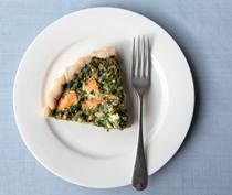 Salmon and spinach pie (Torta di salmone e spinaci)