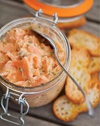 Salmon rillettes