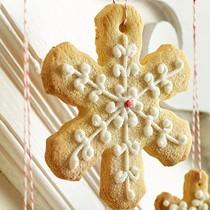 Salty-sweet snowflakes
