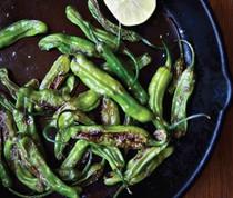 Sautéed shishito peppers, summer's best new bite