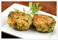 Scallion-lime shrimp cakes