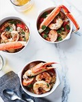 Seafood-and-chicken gumbo