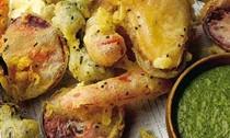 Seasonal tempura