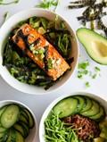 Seattle Asian salmon bowl