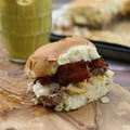 Secret ingredient bacon cheeseburger sliders
