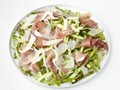 Shaved asparagus and prosciutto salad