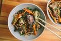 Shiitake mushroom & broccoli soba noodles