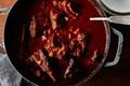 Short rib pumpkin chili