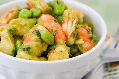 shrimp shrimp avocado and orange shrimp and avocado salad avocado