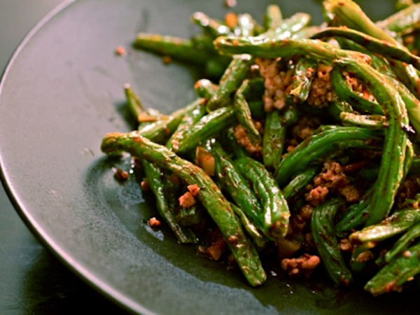 Sichuan Dry-Fried Long Beans Recipes — Dishmaps