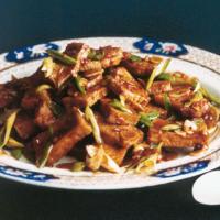 Sichuanese home-style tofu (Jia chang dou fu)