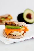 Simple egg sandwiches