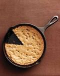 Skillet chocolate-chip cookie