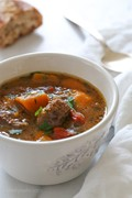 Slow-cooker beef and kabocha squash stew
