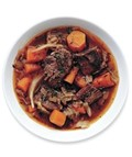 Slow-cooker carrot and beef stew