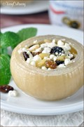 Slow cooker Greek stuffed onions