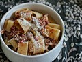 Slow cooker pork shoulder pasta