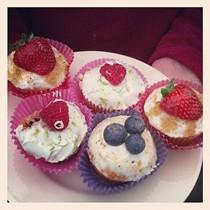Slummy mummy fruity cupcakes