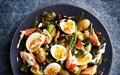 Smoked trout, egg and potato salad