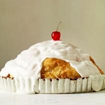 Snow-capped pie