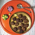 Spiced ground beef patties (Shami kebabs)