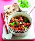 Spiced meatball curry