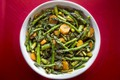 Spicy carrot and asparagus stir-fry