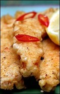 Spicy Indian fried fish