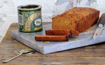Sticky golden syrup loaf cake