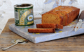 Sticky golden syrup loaf cake