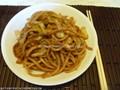 Stir-fried noodle Shanghai style