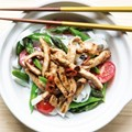 Stir-fried pork with rice noodles