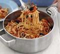 Storecupboard spaghetti puttanesca
