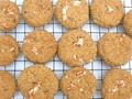 Strawberry marshmallow fluff cookies