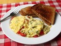 Summer scrambled eggs