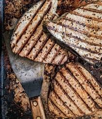 Super-basic grilled fish steaks