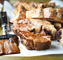 Sweet and spicy oven baked baby back ribs