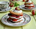 Sweet Eve strawberry shortcake stacks