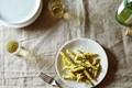 Swiss chard stalk pesto with pepitas