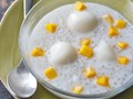 Tapioca pearls with coconut milk and mango (Tambo-tambo) from 'The Adobo Road Cookbook' (Cook the Book)