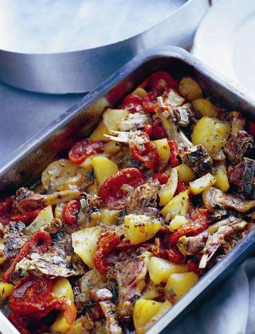 Tava (Cypriot baked lamb and potatoes with cumin and tomatoes) recipe ...