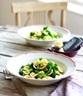 Tenderstem broccoli, chilli and pecorino pasta