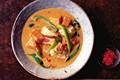Thai fish and pumpkin curry