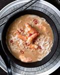 Thai shrimp-and-coconut soup with lemongrass