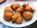 Thanksgiving stuffing fritters