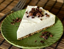The best no-bake vanilla cheesecake