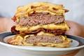 The double bacon hamburger fatty melt