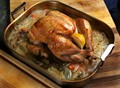 The roasted/braised Thanksgiving turkey