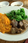 The simplest beef casserole (slow cooker)