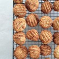 Thermomix lemon coconut & almond biscuits